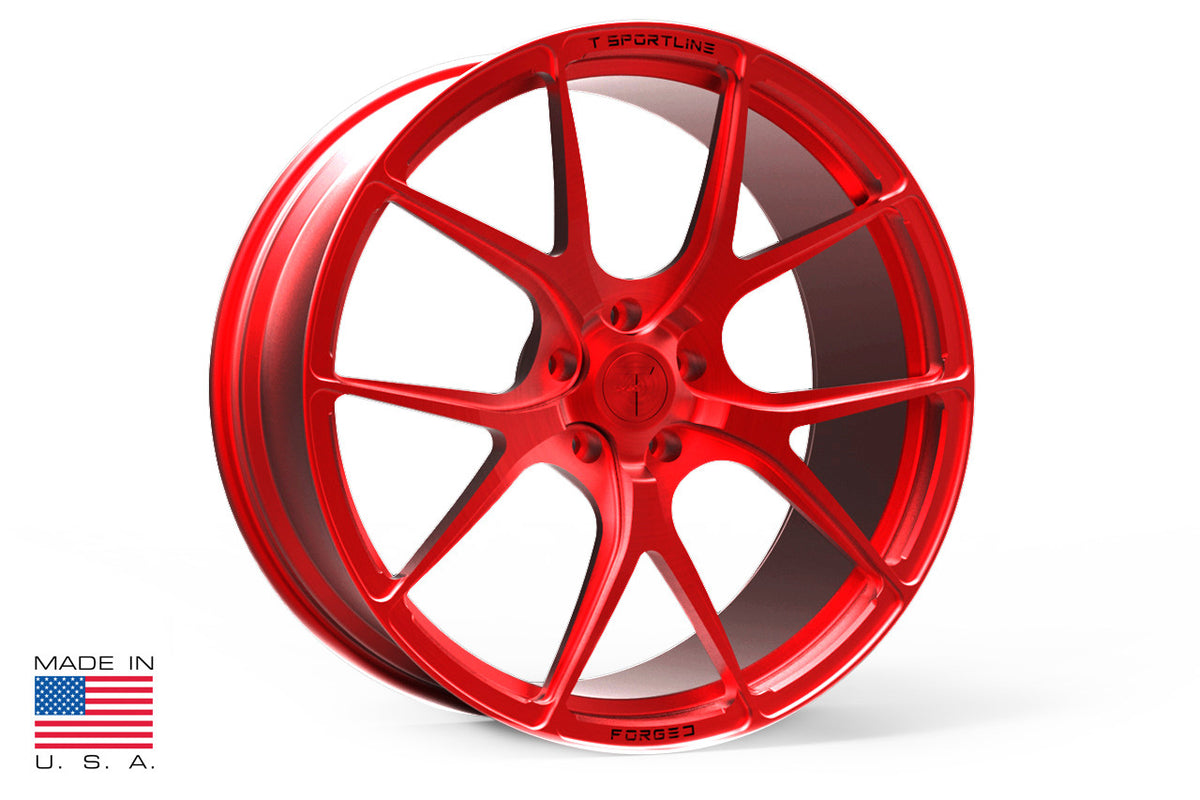 "22"" MX115 Forged Tesla Wheel and Tire Package (Set of 4)"