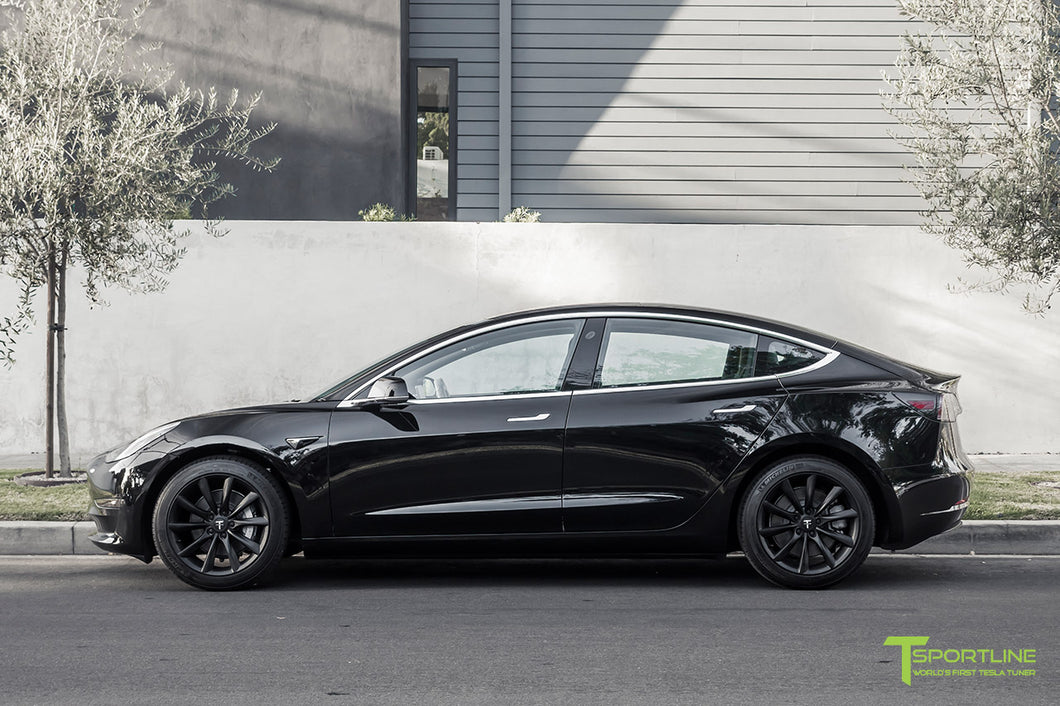 "Michelin X-Ice Xi3 >> Tesla Model 3 Wheels-18"" TST Flow Forged Tesla Wheel and Tire Package – TSportline.com - Tesla ..."