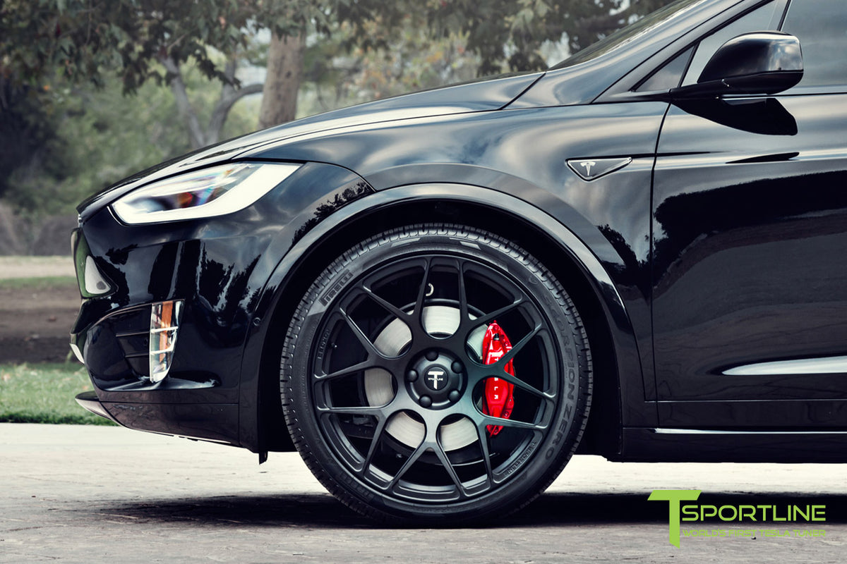 "Tesla Model X 22"" MX117 Forged Tesla Wheel (Set of 4)"