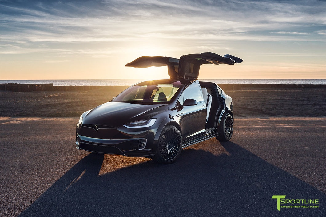 Black 2018 Tesla Model X P100D Limited Edition T Largo Founders #1 of 2