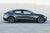 Midnight Silver Metallic Tesla Model 3 with Metallic Gray Grey 19 inch TST Tesla Wheel by T Sportline
