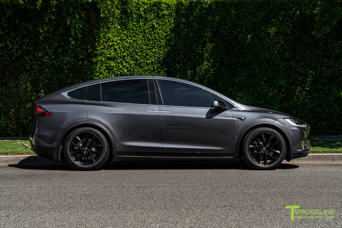 "Tesla Model X 20"" TSS Flow Forged Tesla Replacement Wheel and Tire"