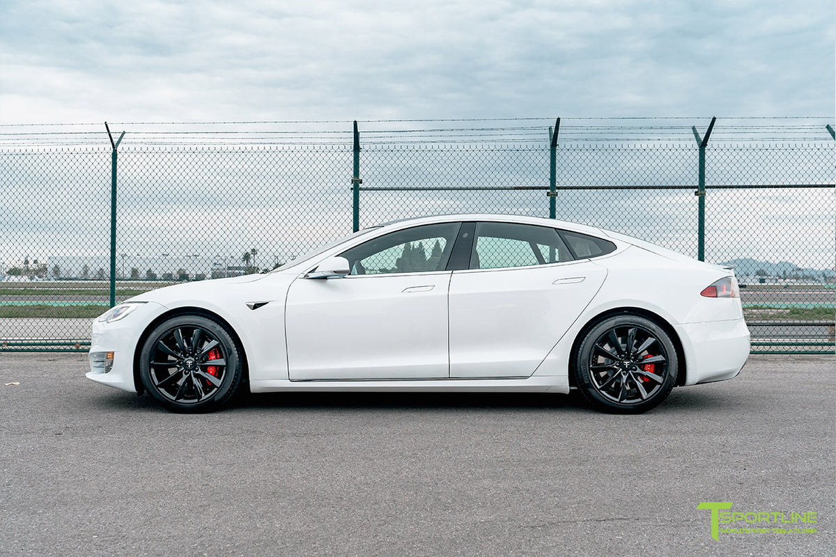 "Tesla Model S 19"" TST Flow Forged Tesla Replacement Wheel and Tire"