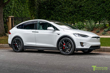 "Tesla Model X 22"" TSS Flow Forged Tesla Wheel and Tire Package (Set of 4)"