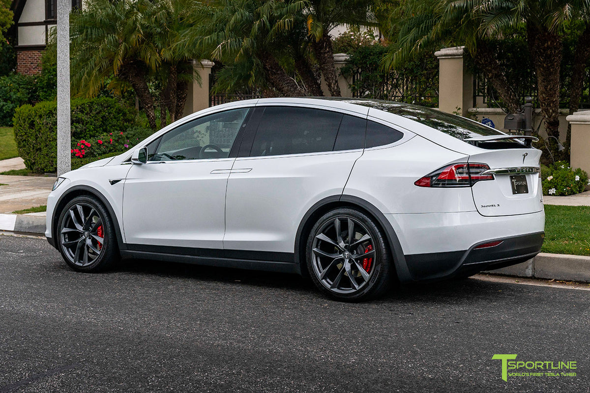 "Tesla Model X 22"" TSS Flow Forged Tesla Wheel (Set of 4)"