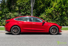 "Tesla Model 3 19"" Falcon Limited Edition Flow Forged Tesla Replacement Wheel and Tire"