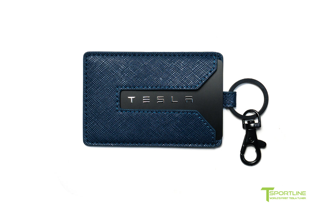 92d83fbea0d0 Tesla Model 3 Leather Key Card Holder – TSportline.com - Tesla Model ...
