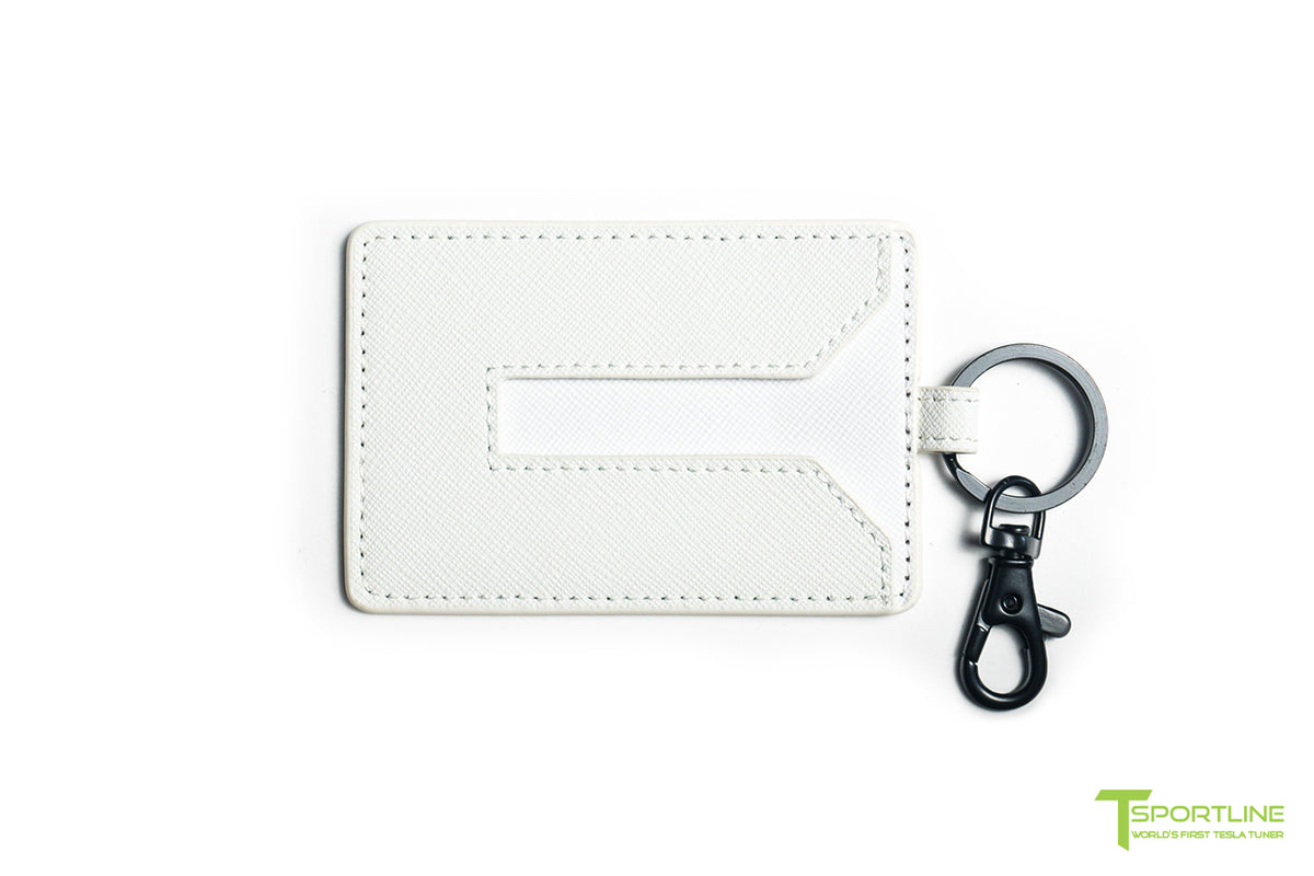 Tesla Model 3/Y Leather Key Card Holder