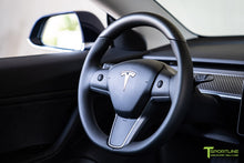 Tesla Model 3/Y Matte Carbon Fiber Steering Wheel