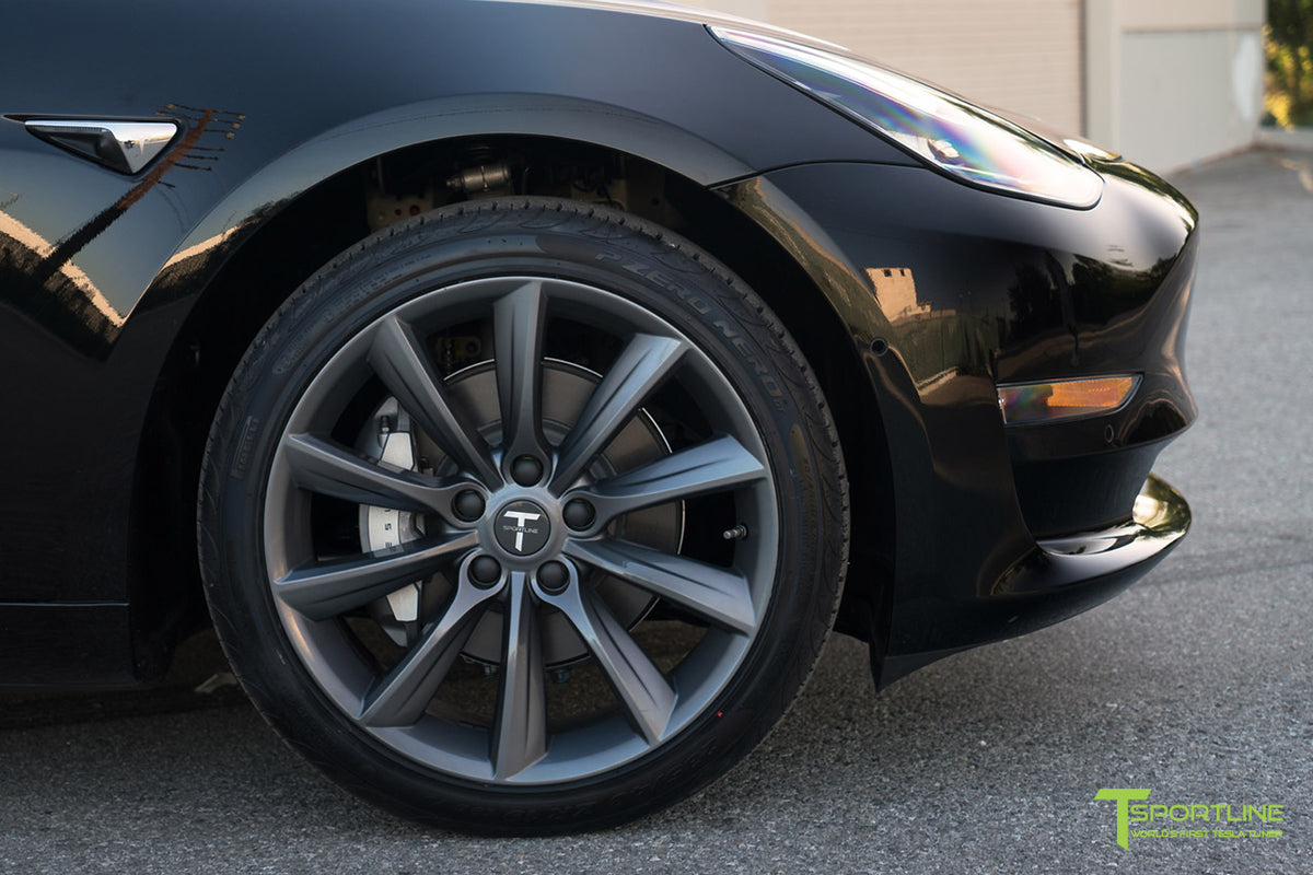 "Tesla Model 3 19"" TST Flow Forged Tesla Wheel and Winter Tire Package (Set of 4)"