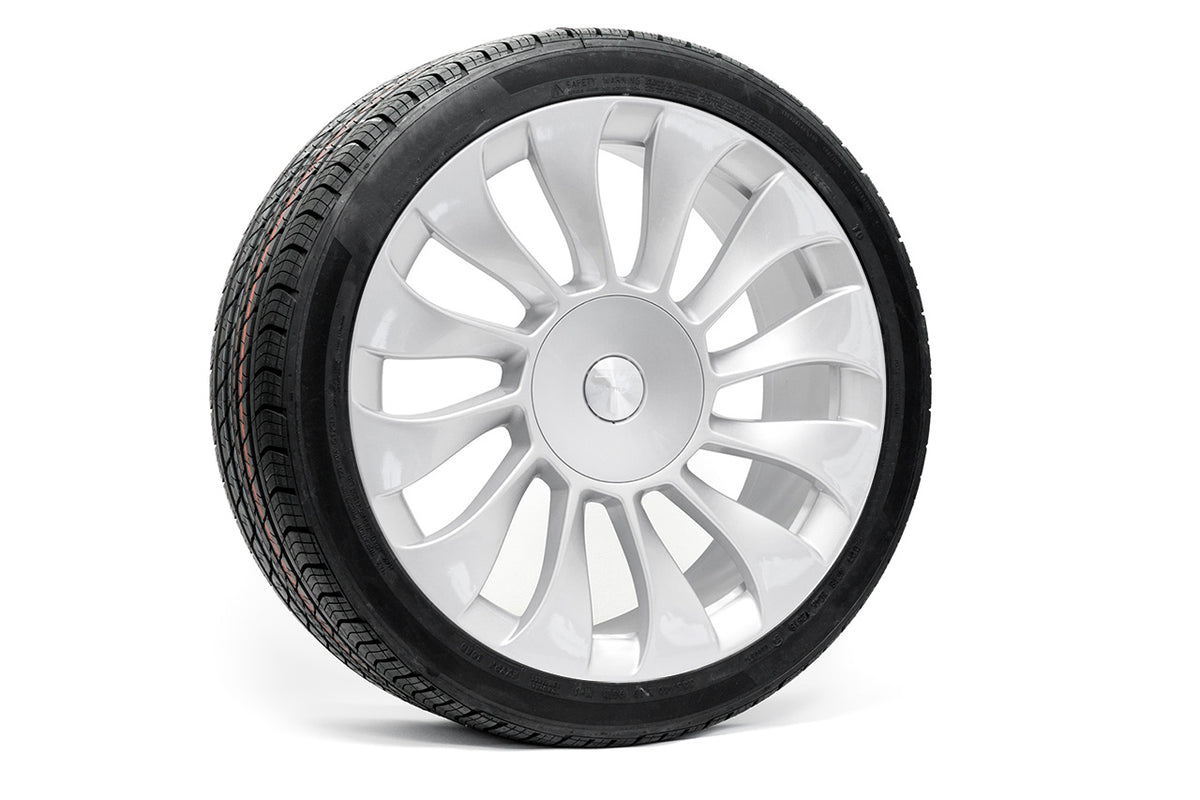 "Tesla Model 3 19"" TSV Flow Forged Tesla Wheel and Winter Tire Package (Set of 4)"