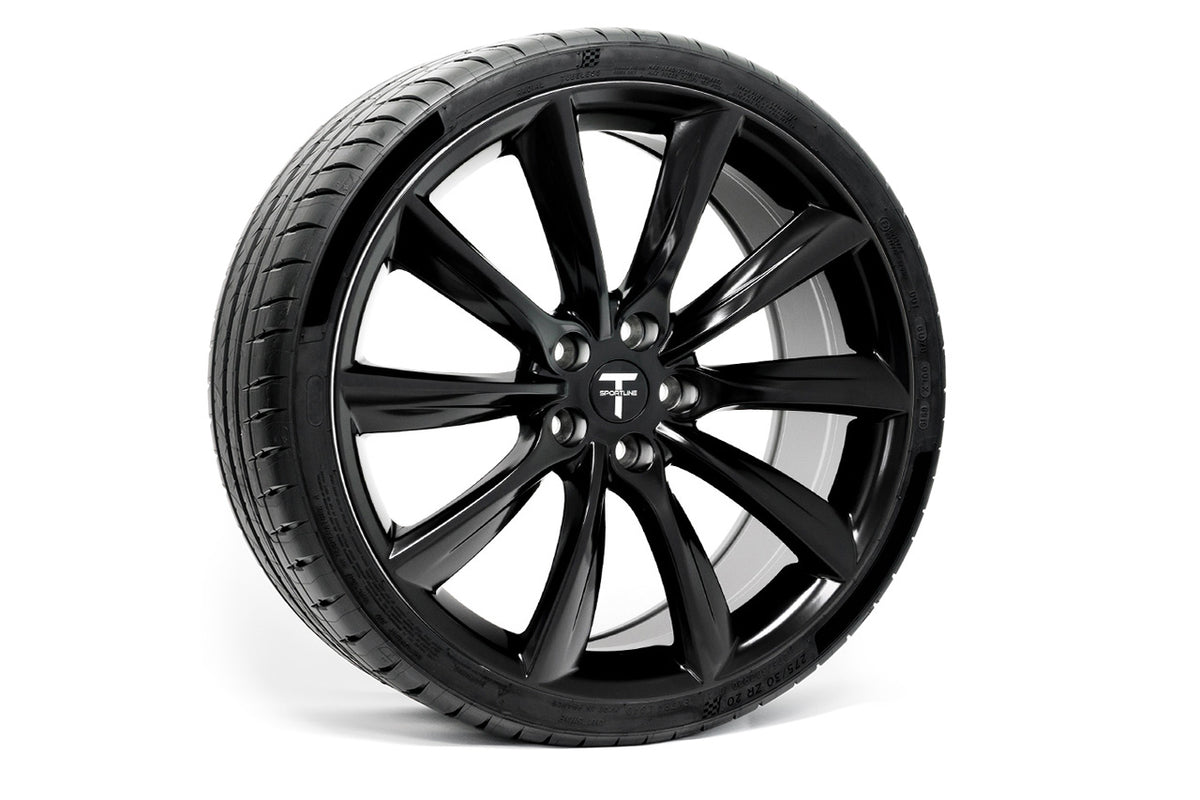 "Tesla Model 3 20"" TST Flow Forged Tesla Wheel and Winter Tire Package (Set of 4)"