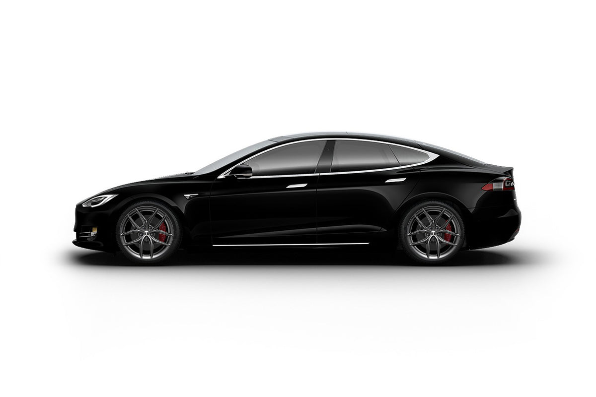 "Tesla Model S 20"" TS5 Flow Forged Tesla Wheel and Winter Tire Package (Set of 4)"