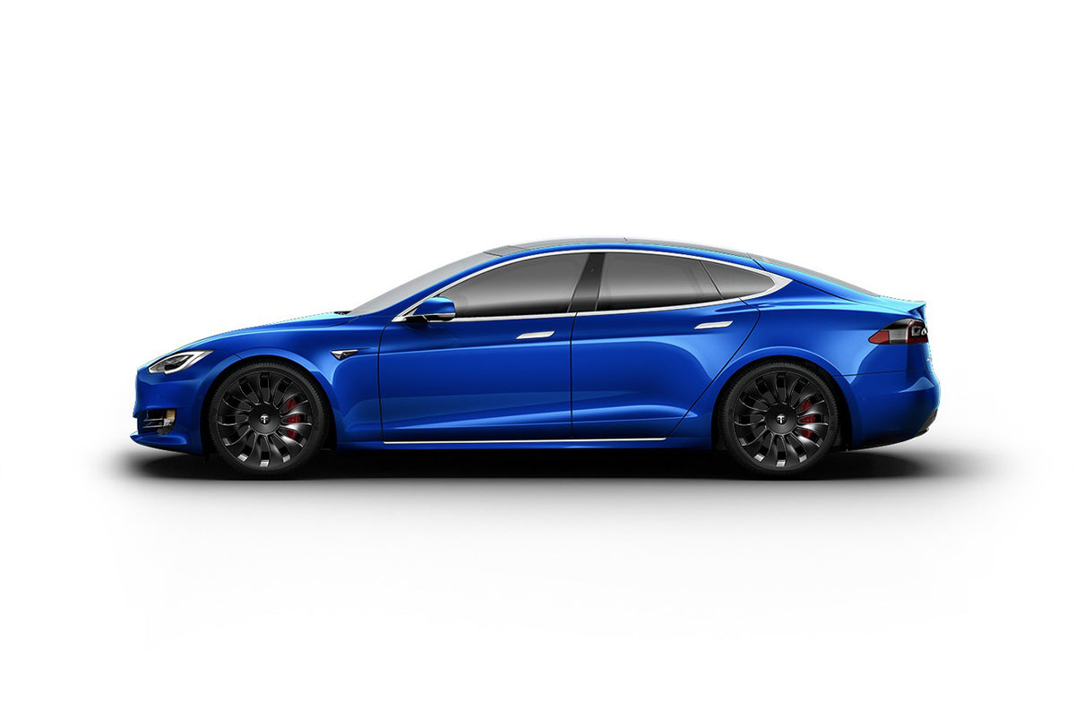 "Tesla Model S 20"" TSV Flow Forged Tesla Wheel and Tire Package (Set of 4)"