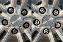 Tesla Wheel Lug Nut Cover Set in Black - Model S