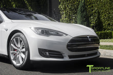 "Custom Tesla Model S with TST 20"" Wheels and NCGv2-NoseCone Grille by T Sportline"