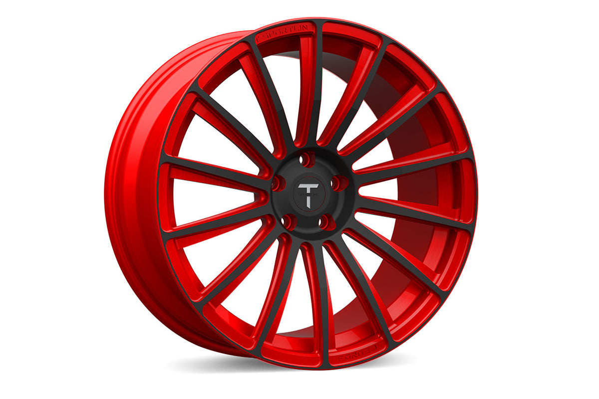 "TS114 21"" Tesla Model S Wheel and Tire Package (Set of 4)"