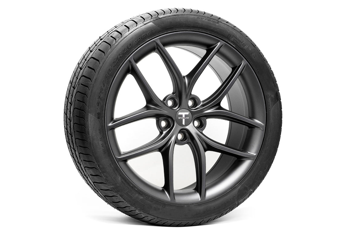 "TS5 20"" Tesla Model S Wheel and Tire Package (Set of 4)"