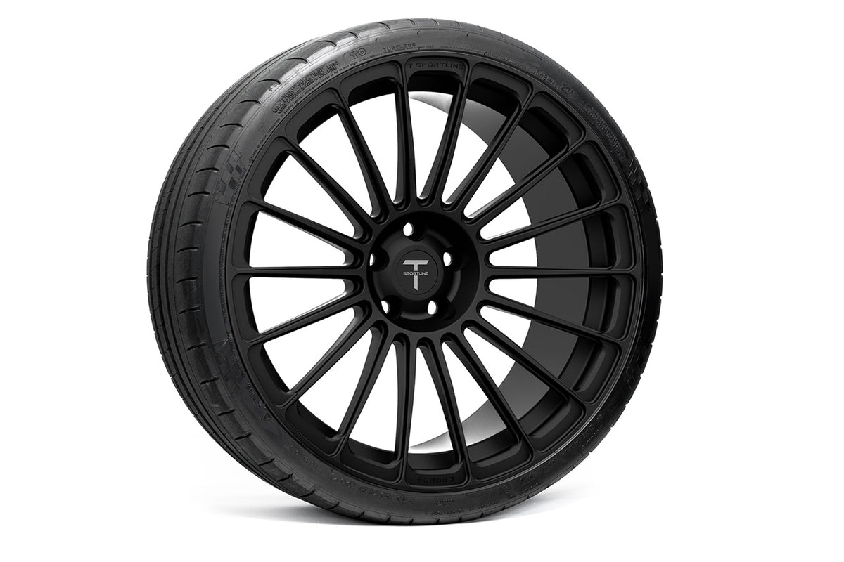 "TS118 21"" Tesla Model S Wheel and Tire Package (Set of 4)"