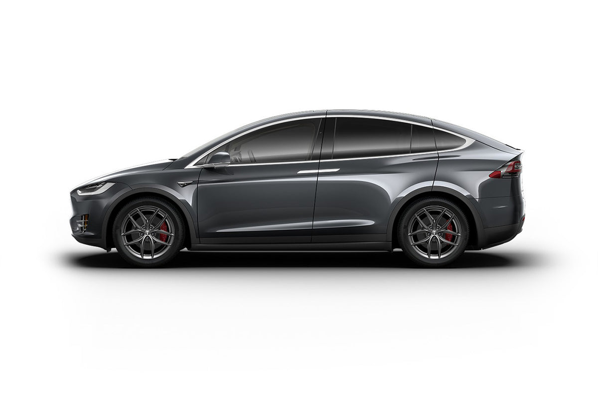 "Tesla Model X 20"" TS5 Flow Forged Tesla Wheel and Winter Tire Package (Set of 4)"