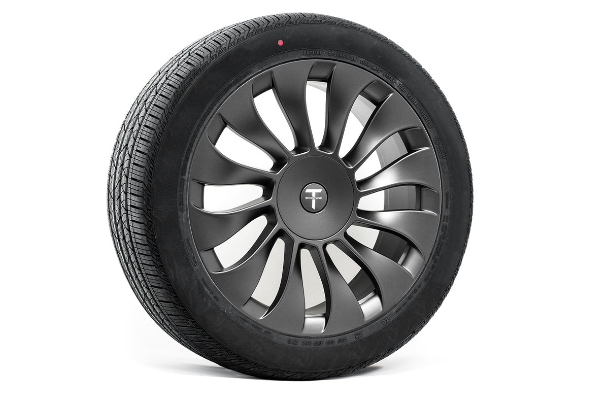 "Tesla Model X 20"" TSV Flow Forged Tesla Wheel and Winter Tire Package (Set of 4)"