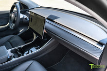 Tesla Model 3/Y Carbon Fiber Dash Panel