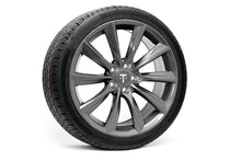"Tesla Model Y 19"" TST Flow Forged Tesla Wheel and Tire Package (Set of 4)"