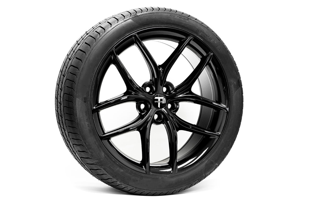 "TS5 20"" Tesla Model Y Wheel and Tire Package (Set of 4)"