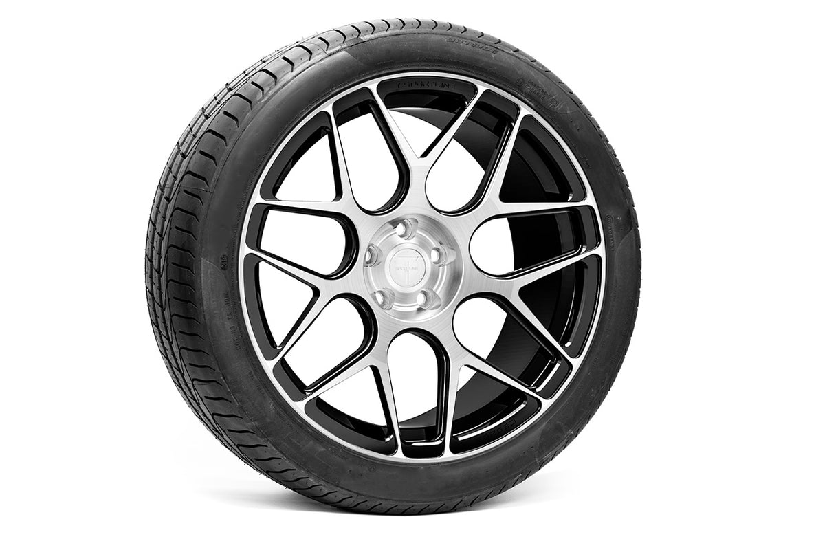 "Tesla Model Y 20"" TY117 Forged Tesla Wheel and Winter Tire Package (Set of 4)"
