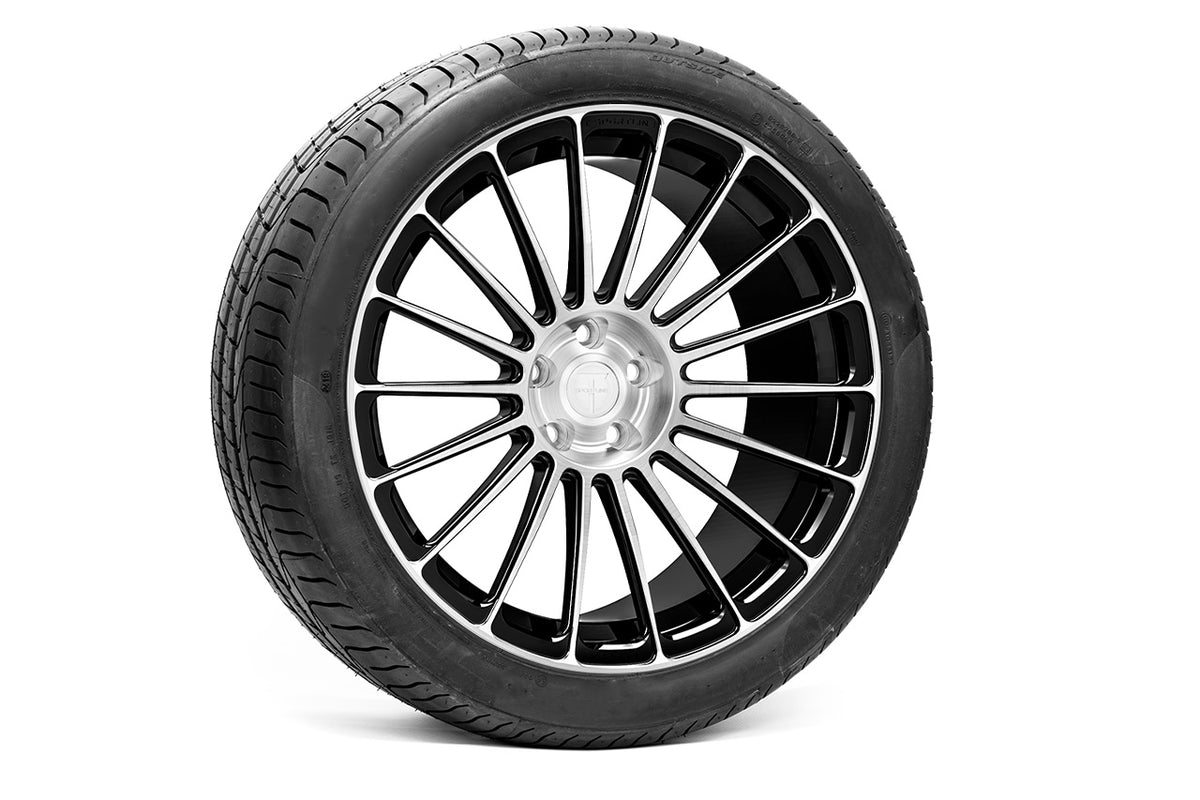 "Tesla Model Y 20"" TY118 Forged Tesla Wheel and Winter Tire Package (Set of 4)"