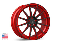 "21"" TS112 Forged Tesla Wheel Imperial Red"