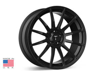 "21"" TS112 Forged Tesla Wheel Gloss Black"