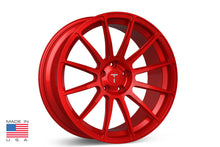 "21"" TS112 Forged Tesla Wheel Velocity Red"