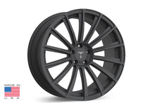 "21"" TS114 Forged Tesla Wheel Matte Grey"