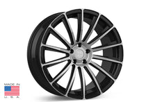 "21"" TS114 Forged Tesla Wheel Diamond Black"