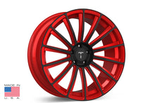 "21"" TS114 Forged Tesla Wheel Imperial Red"