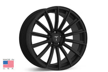 "21"" TS114 Forged Tesla Wheel Matte Black"