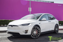 "Tesla Model X 22"" MX114 Forged Tesla Wheel and Tire Package (Set of 4)"