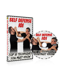 Self Defense 101, 201 DVDs - BUNDLE DISCOUNT 60% OFF!