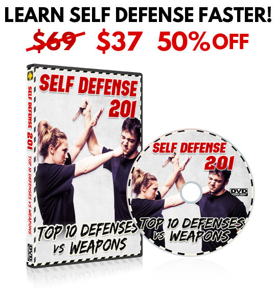 Women's Self Defense 201 DVD - BUNDLE DISCOUNT 50% OFF!