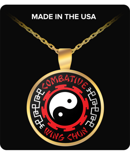 Combative Wing Chun Power Pendant GOLD