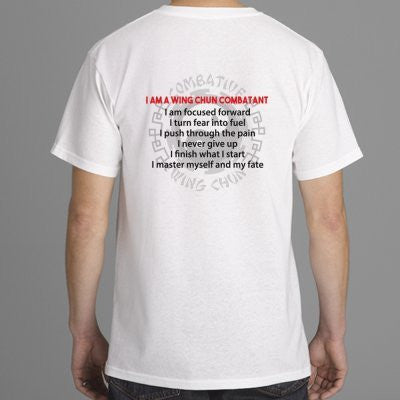 Wing Chun 'Combatant's Creed' T-Shirt