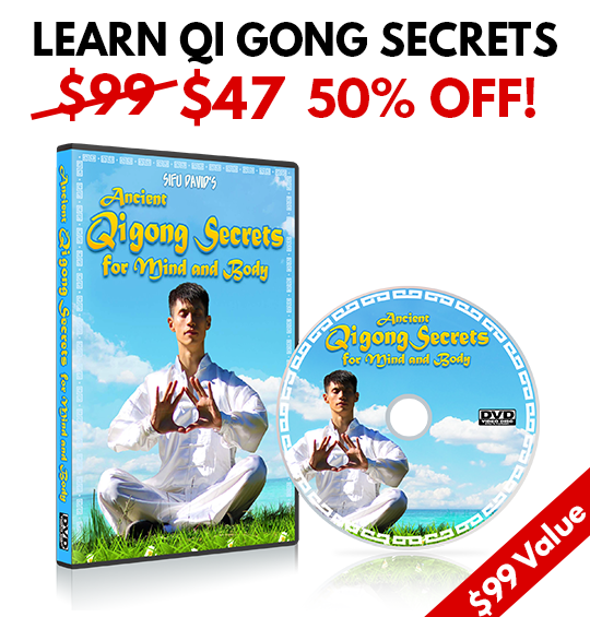 Ancient Qi Gong Secrets For Mind & Body DVD - 50% OFF!