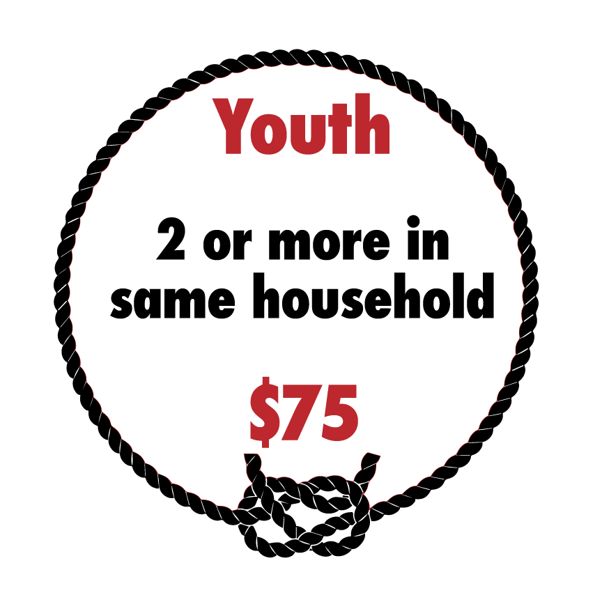 Youth, 2 or More Dues