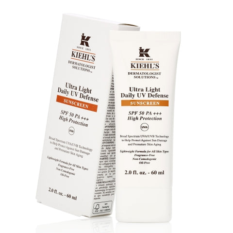 Kiehl's ultra light daily UV defense SPF50 PA+++ 60ml