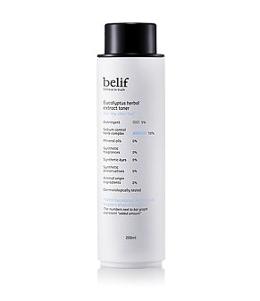 Belif Eucalyptus Herbal Extract Toner 200ml