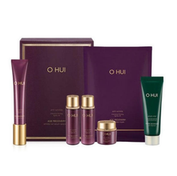 Ohui age recovery wrinkle cut serum special set