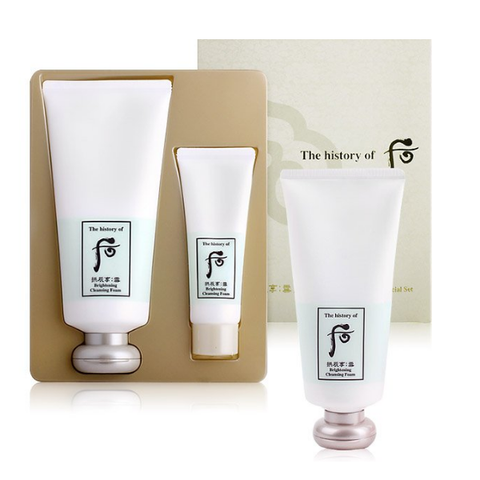Whoo brightening cleansing foam special set
