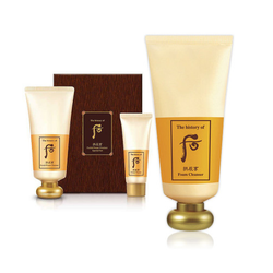Whoo foam cleanser special set