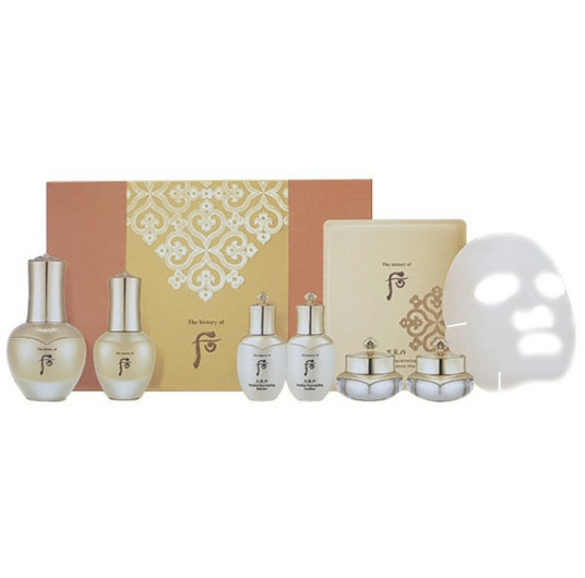 Whoo radiant regenerating gold concentrate ampoule special set